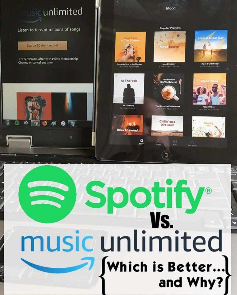 Spotify vs Amazon Music