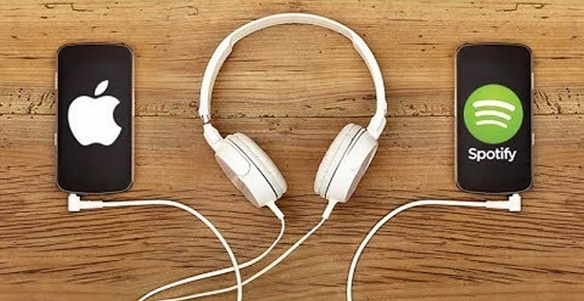 Spotify vs iTunes Headphones