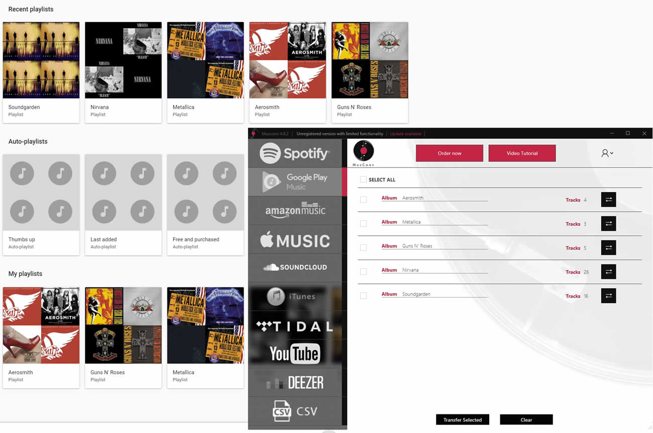 Spotify To Google Music ( works in 2019 )