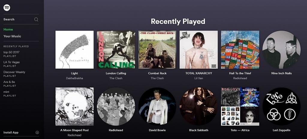 слушать музыку через Spotify в Украине