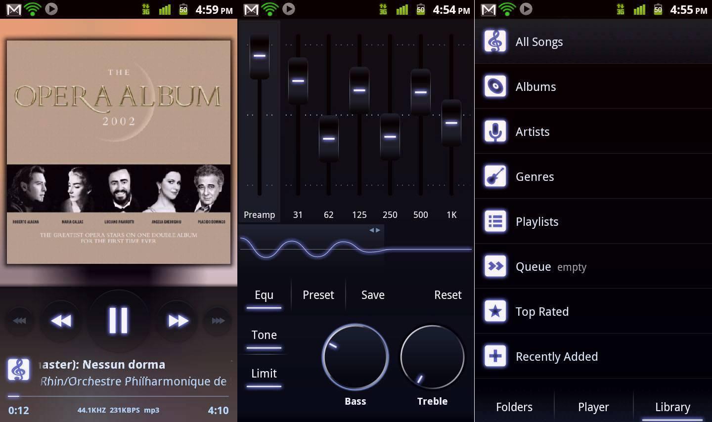 где слушать музыку на андроиде